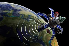 The Internet infrastructure includes satellite systems.