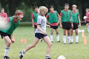 """Carly Schroeder in action as """"Gracie"""""""