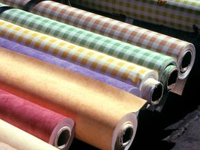 Fabric goes through quite a process before it hits the shelves.