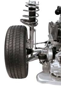 Car Safety Image Gallery Automotive shock absorbers help ensure maximum comfort and control on the road. See more car safety pictures.