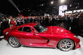 The 2013 SRT Viper makes 640-horsepower. But is that enough? Check out these car engine pictures to learn more!