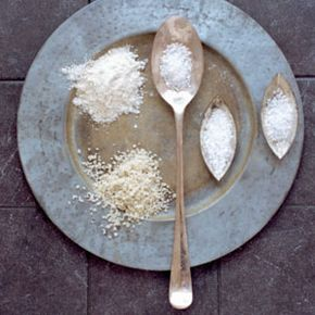 A smattering of salts -- from table salt to sea salt -- shows just how beautiful and glorious this ancient seasoning is. See more salt pictures.