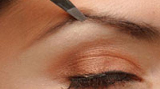 How often should I tweeze my eyebrows?