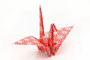 Paper cranes are perhaps the most iconic of origami subjects. The crane is a mystical creature in Japanese lore.