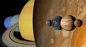 Our solar system plays host to a wide variety of planets.