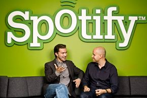 Spotify founders Daniel Ek and Martin Lorentzon want to synchronize your entire music life, letting you access millions of tracks anywhere.