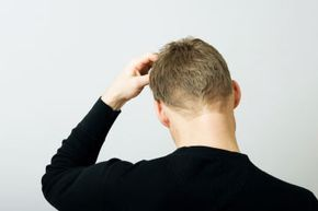 Skin Problems Image Gallery Itchy scalp in adults is often caused by dandruff. See more pictures of skin problems.
