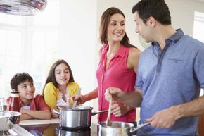 Kids love to help out in the kitchen and easy Italian dishes will encourage them to do so even more. See more kid-friendly recipe pictures.