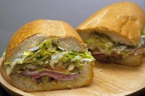 Italian toasties are a combination between a pizza slice and a submarine sandwich.