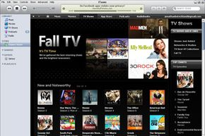 Need to catch up on your television shows? You can check them out through iTunes.