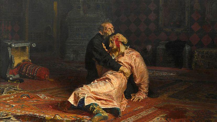 Ivan the Terrible Killing His Son