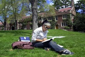 Ivy League colleges like Princeton look for intelligent, yet well-rounded students.