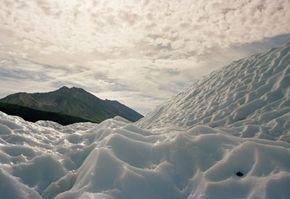 Ice sheet remnants at Wrangell-Saint Elias National Park
