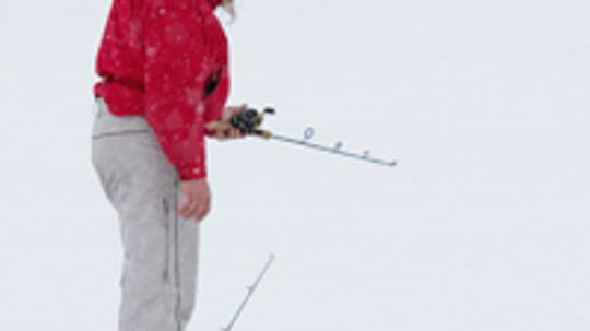 What if I were ice fishing and fell through the ice?
