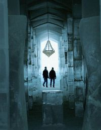 The ICEHOTEL's design changes annually.