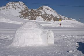 Ice hotels have their roots in igloo design.