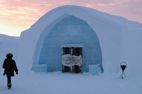 Image Gallery: Strange Tourist Attractions Sweden's ICEHOTEL is built every year on the river Torne. See more pictures of strange tourist attractions.