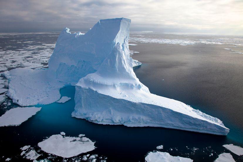 New evidence links rapid sea level rise 14,500 years ago to icebergs breaking off Antarctica. Frank Roedel, Alfred Wegener Institute