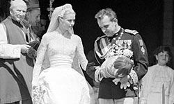 Grace Kelly charmed Monaco with her style and, well, grace.