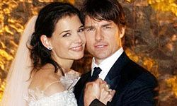 The couple known as TomKat tied the knot in Italy.