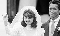 When a Kennedy marries a world-famous bodybuilder, you know it's got to be a big deal.