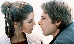 Han and Leia finally tied the knot -- off-screen.