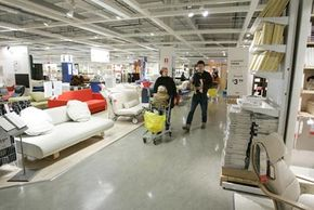 A typical Saturday for people around the world might include shopping at Ikea.