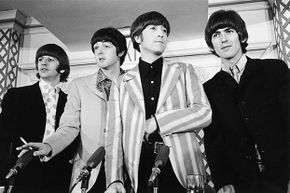 And you thought the Beatles got to the  top because of their talent, looks and charm! No -- it was all thanks to Illuminati manipulation.