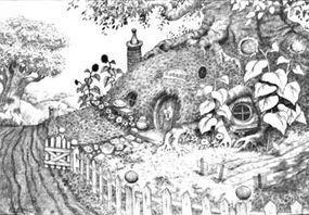 A concept sketch of hobbit architecture