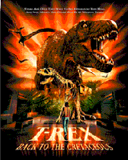 """Movie poster for """"T-REX"""""""