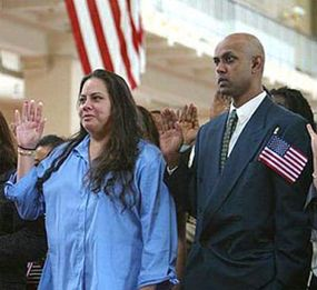 Obtaining one of the 480,000 visas available every year may one day lead to gaining U.S. citizenship.