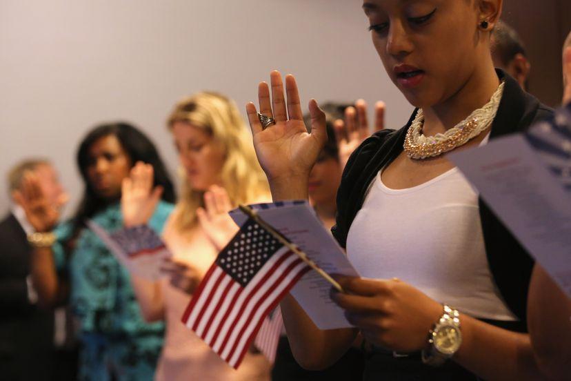 immigration ceremony