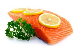 Salmon is an excellent source of B-12.