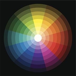 The colors we perceive are the result of reflected light being detected by cones in our eyes and then processed by our brains.