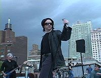 """U2"" concert on Agent Todd's roof"
