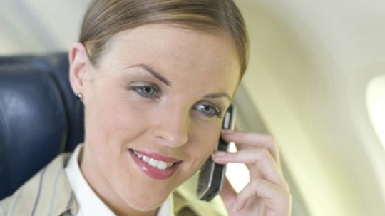 How In-flight Mobile Phone Services Work