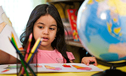 In kindergarten, your child will learn about new places, cultures and people.
