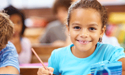 This year, you'll likely see huge leaps in your child's reading and writing skills.