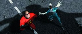 Mr. Incredible and Frozone