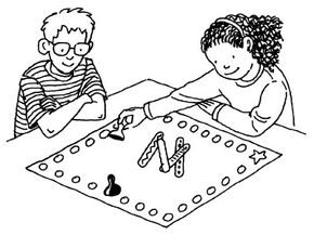 Play a game of yut-nori.