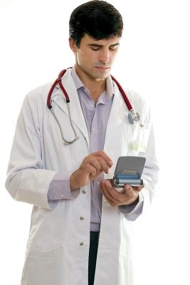 Doctors and other specialists rely on information technology professionals to keep computer systems functioning.