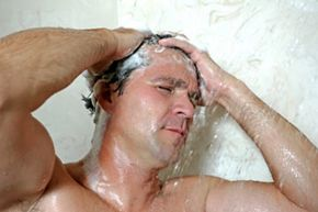 A regular shower helps to keep your sweat glands from becoming infected.