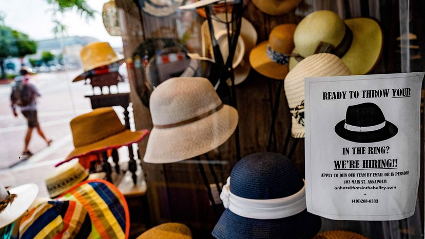hat store advertises for help
