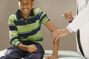 Getting an injection is never pleasant.