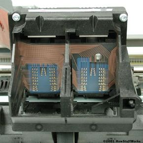 The print head assembly