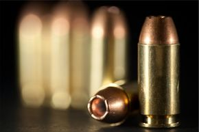 The bullets on the ammo pictured here all have copper jackets.