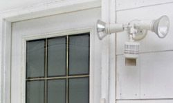 Motion detectors typically use infrared technology.