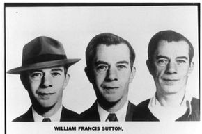 Once one of the FBI's Ten Most Wanted Fugitives, Willie Sutton was the master of disguises until his final capture in 1952.