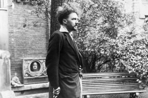 Ezra Pound in Paris in 1923, two years before he moved to Italy.