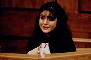 Lorena Bobbitt broke down on the stand during her trial in early 1994.